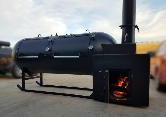 Offset Smoker Fire Management